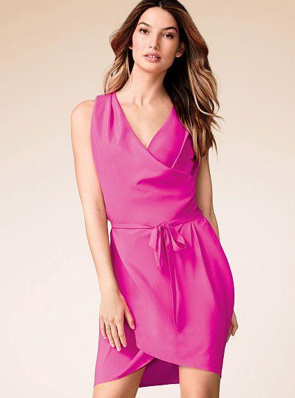 Belted Drape Dress $22,99