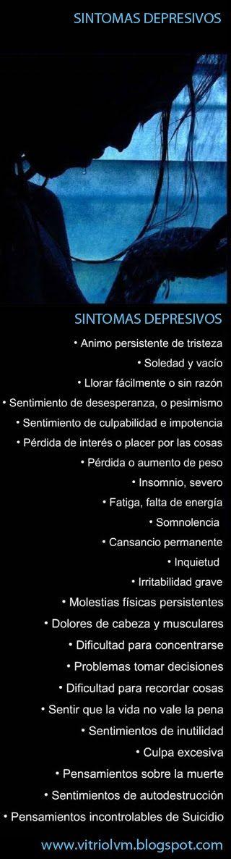 SINTOMAS DESORDEN BIPOLAR (Fase Depresiva Extrema)