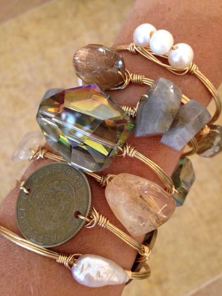 My new obsession....Bourbon and Boweties Bangles. #doyoubangle