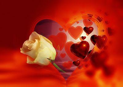 25 fotos de rosas rojas, arreglos florales y postales para el Día del Amor y la Amistad. - Happy Valentine's Day | Banco de Imágenes