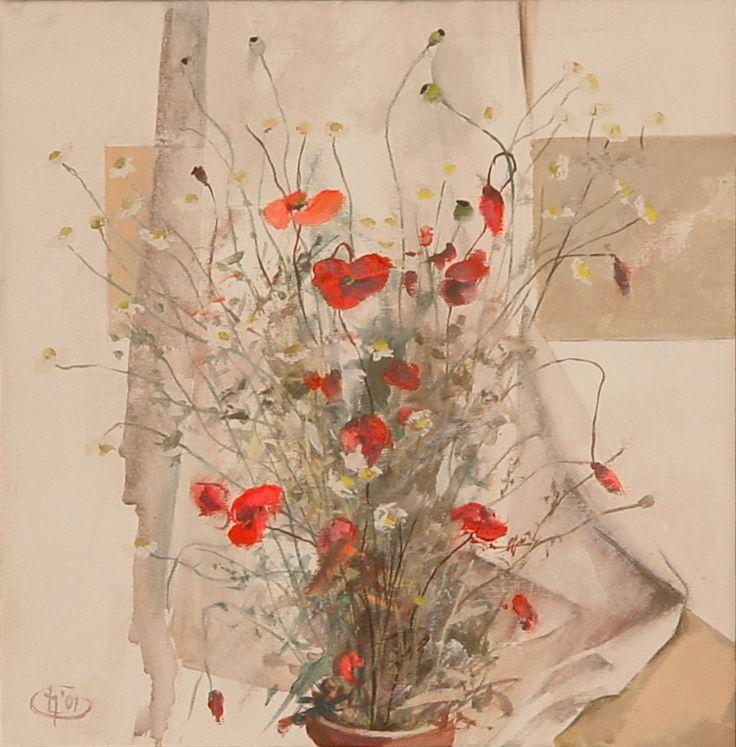 Title: Flori IV / Style: Acrylic on Canvas