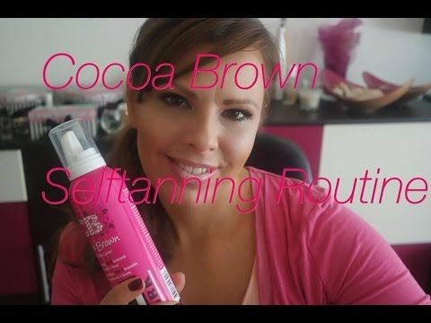 Selftanning Routine mit Cocoa Brown by Marissa Carter (Kylie Jenner Favorite) - YouTube