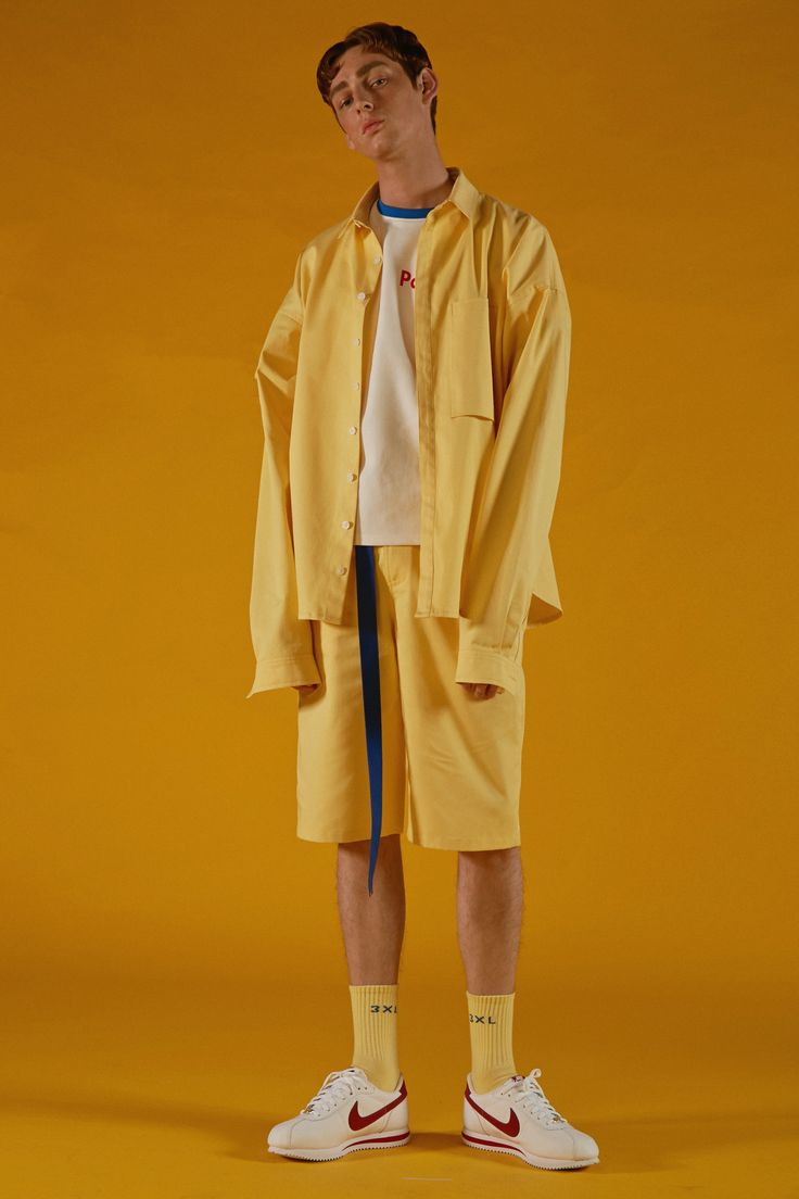 XXL socks yellow #ader#image