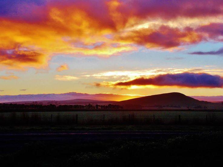 Mt Muier head at sunrise