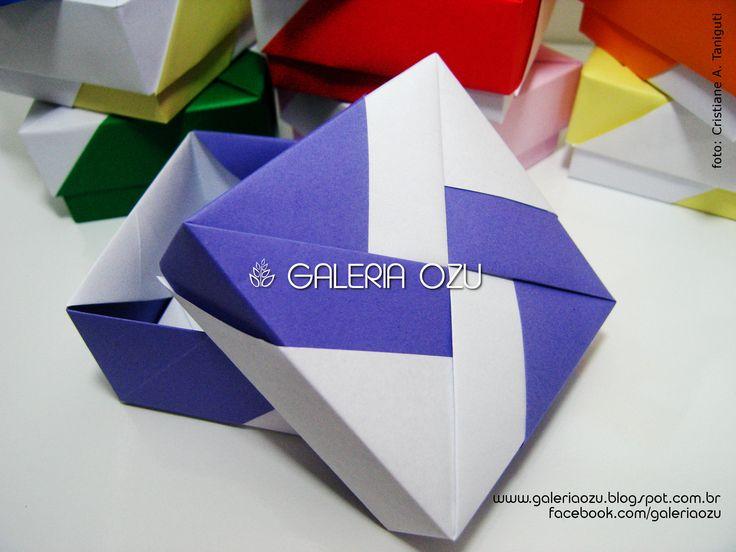 origami boxes (by Tomoko Fuse) #box #origami #galeriaozu #indaiatuba #saopaulo #paperfolding #folding #origamiart #origamidecor #paper