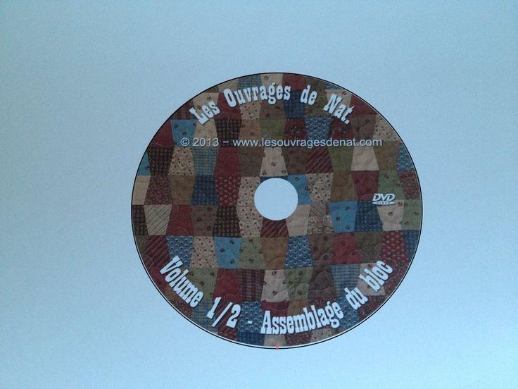 DVD - Débuter le patchwork à la machine Volume 2 - QUILTING - Les Ouvrages de Nat                                                                                                                                                                                 Plus
