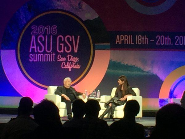 """Cognero on Twitter: """"Frank Gehry explains the power of personal connection. #asugsvsummit https://t.co/KewMyqf7Ka"""""""