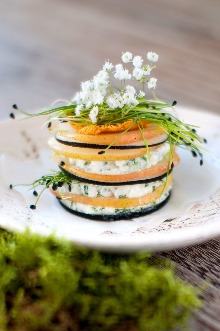 Pear Salad / French recipe