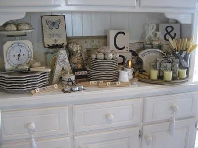 Kitchen Hutch Decoration