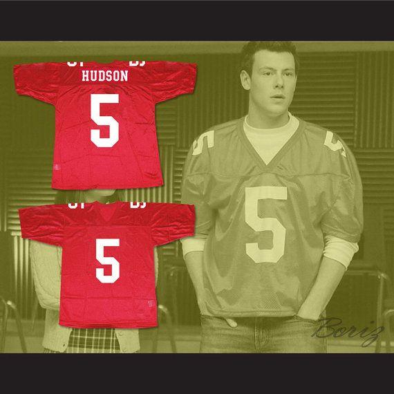 Finn Hudson 5 William Mckinley High School Football Jersey