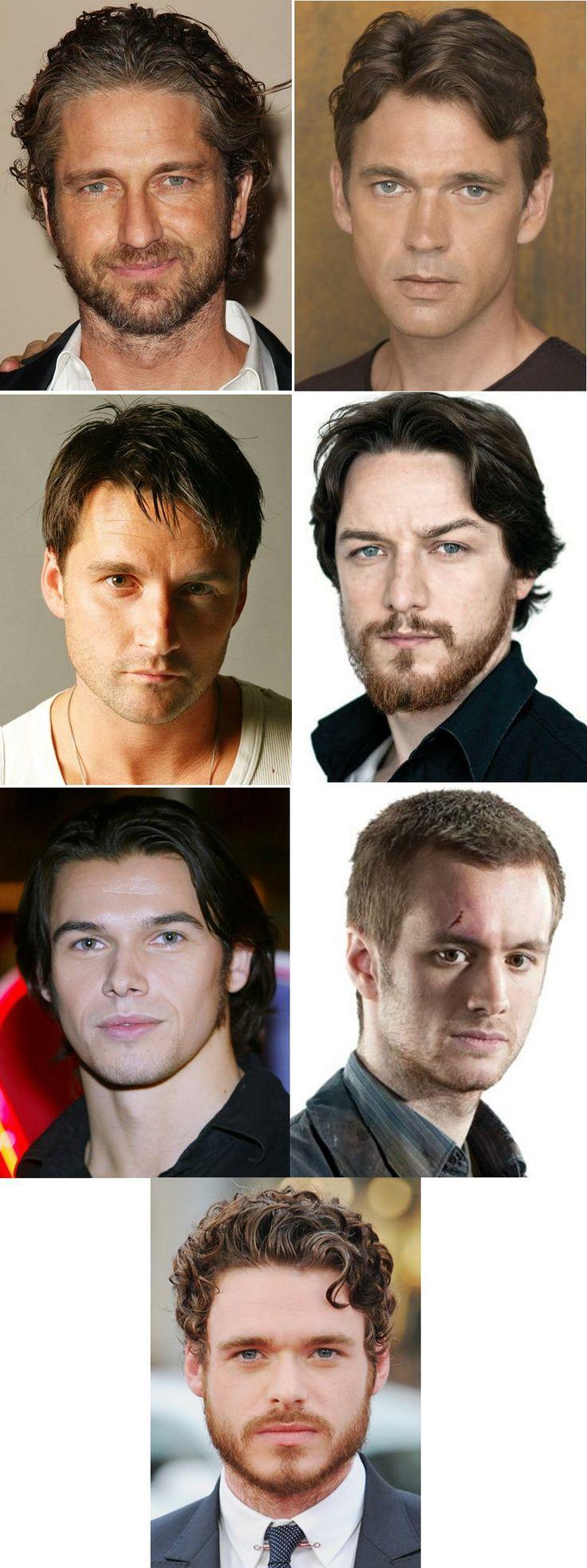 Sexy Scotsmen for a new story idea: Gerard Butler, Dougray Scott, Alastair Mackenzie, James McAvoy, Paul Telfer, Sean Biggerstaff, and Richard Madden