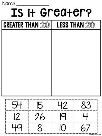 Writing Numbers Worksheets and Printables
