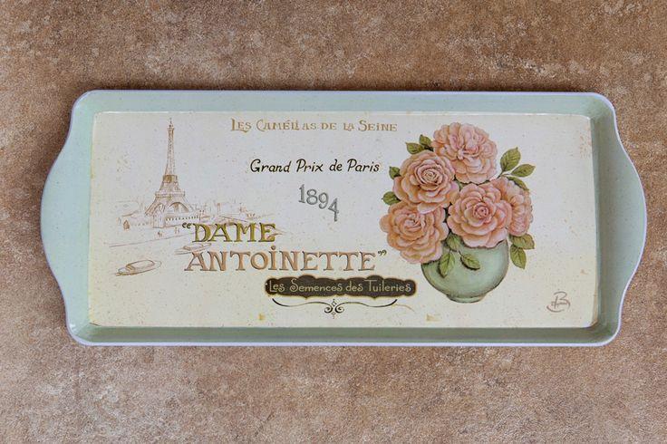 Dame Antoinette Rectangular Tray