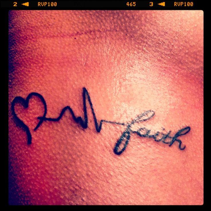 Love, Life, Faith.... Girl Tattoos