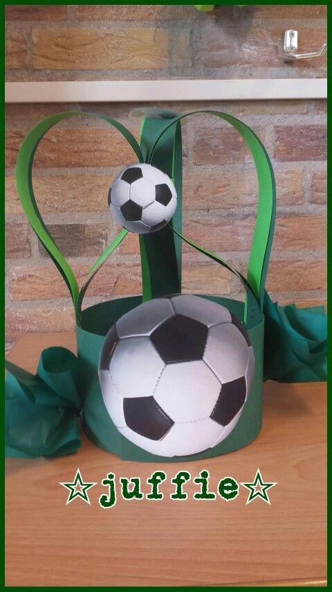 Voetbal verjaardagmuts