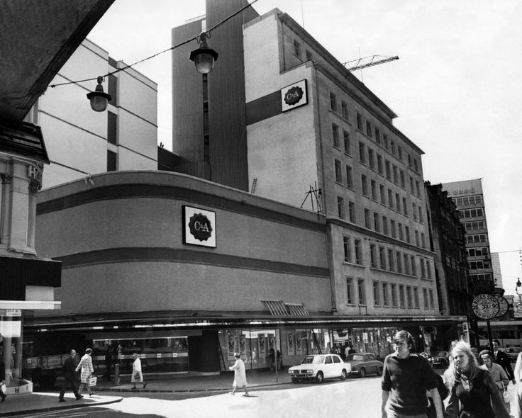 C&A store in Corporation Street, Birmingham.
