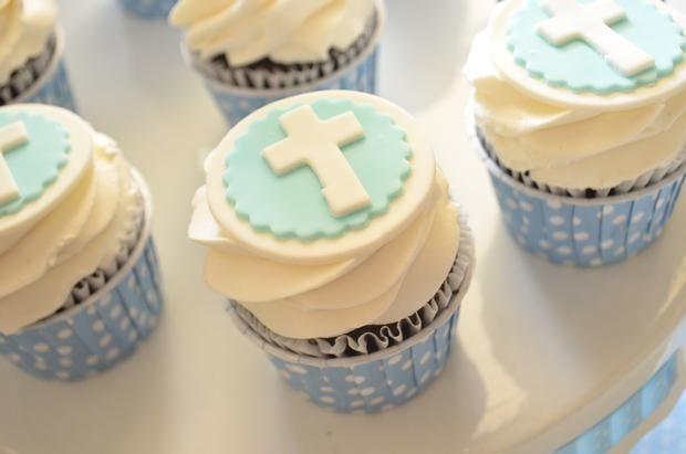 Cupcakes para la primera comunión /