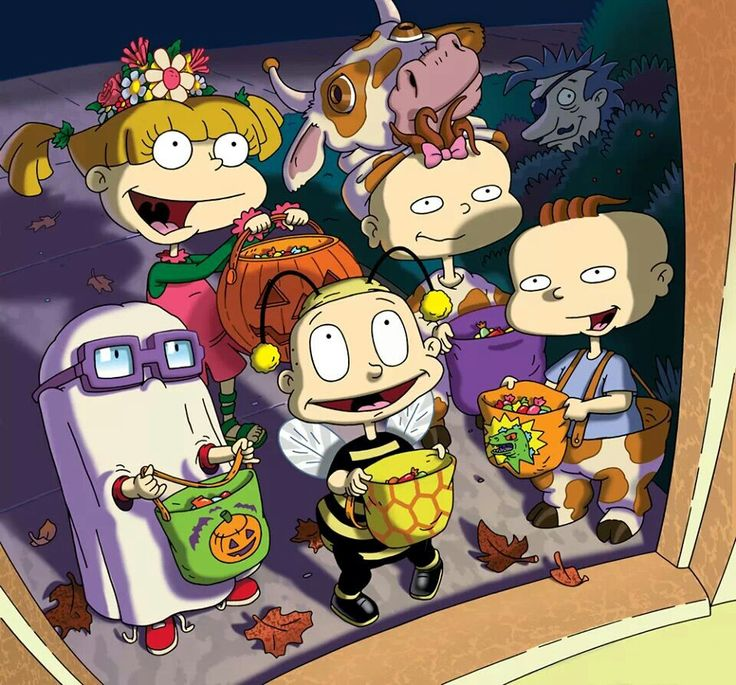 Happy halloween from the Rugrats | Rugrats | Pinterest ...
