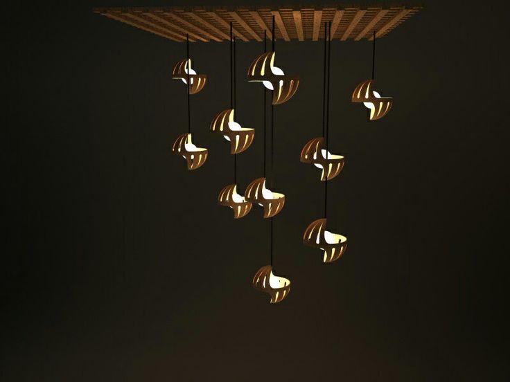 Coconut lamp