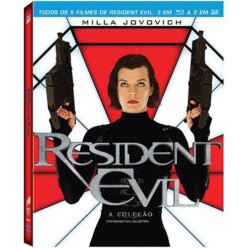 Shoptime Blu-Ray Coleção Resident Evil (5 Discos) - R$51,30