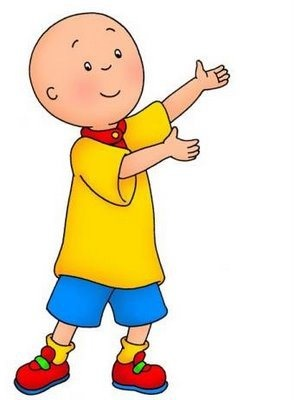 Caillou is so annoying. He forces his parents to wait on his every whim, and when he doesn't get his way or if he decides he just hates his baby sister or the world, he throws a huge tantrum and they coddle him in return. This child- no, this monster- is a pestilence.