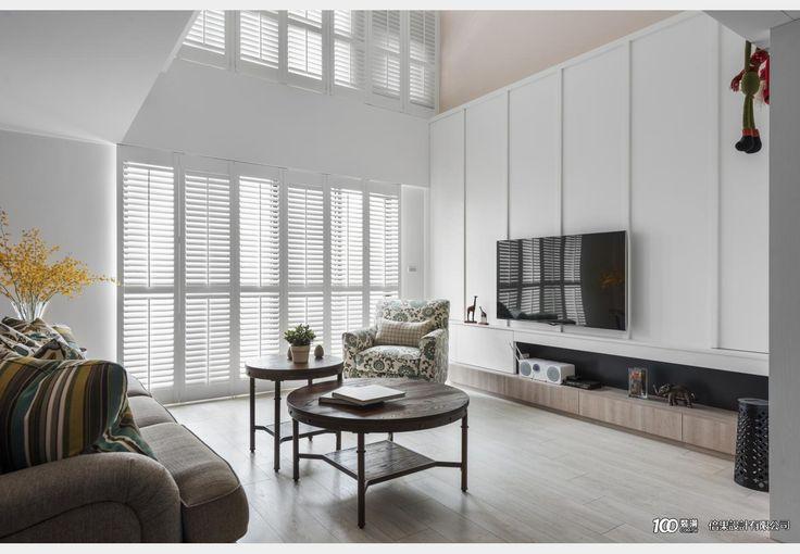美式生活_美式風設計個案—100裝潢網