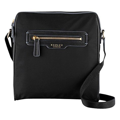 Buy Radley Mercer Street Crossbody Bag, Black Online at johnlewis.com