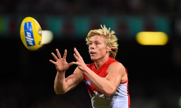 Isaac Heeney remains on track to return to training following the bye.