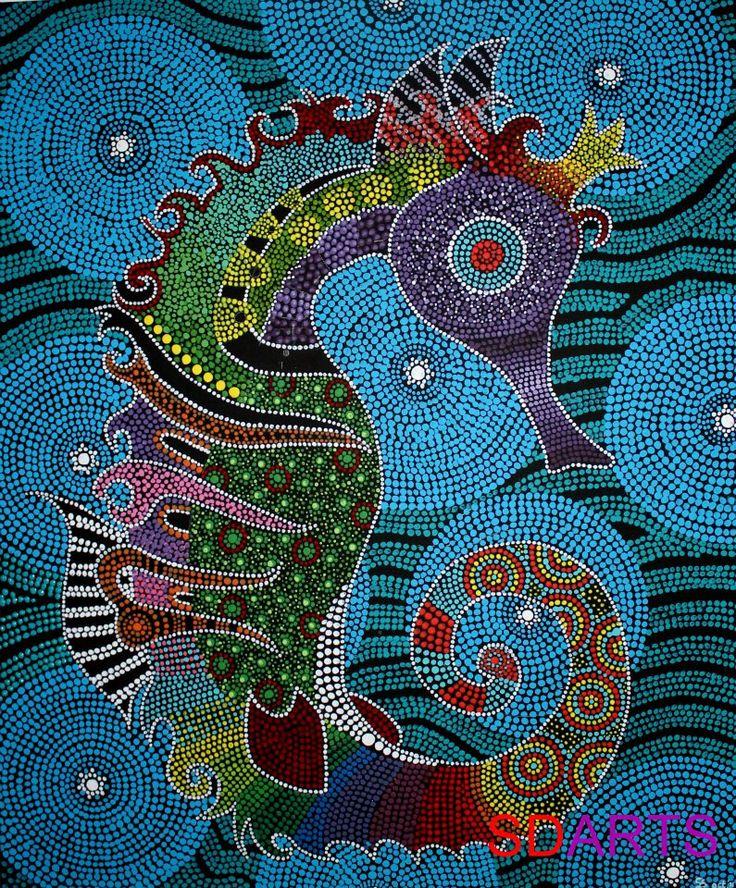 Seahorse 50x60cm Like & Repin. Noelito Flow. Noel  Panda http://www.instagram.com/noelitoflow