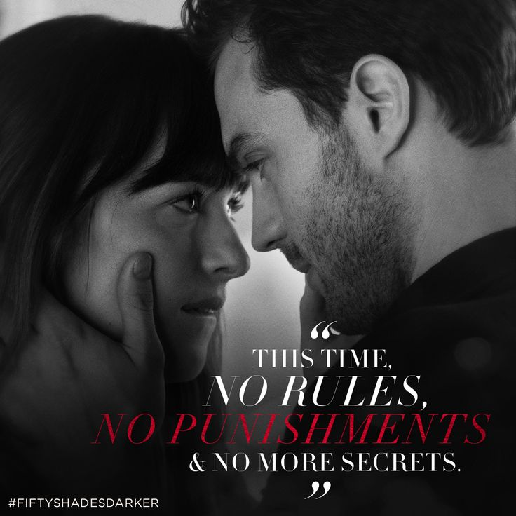 """""""This time, no rules. No punishments and no more secrets."""" - Anastasia Steele   Fifty Shades Darker Movie   In theaters Valentine's Day"""
