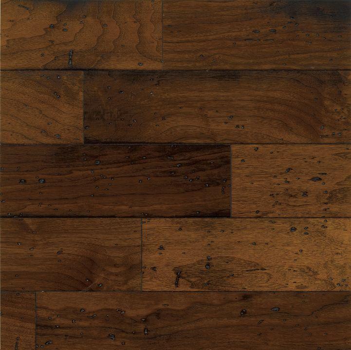 Walnut Hardwood Flooring - Dark-Brown : EWT75LG by Bruce Flooring
