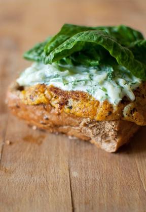 carrot potato burger | Sandwicherie | veritable veggie burger ...