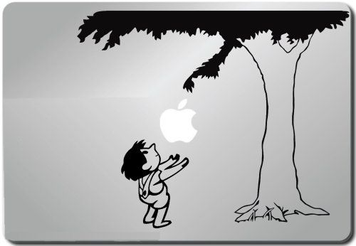 Giving tree apple macbook ipad laptop vinyl decal sticker skin cover when pigs fly http