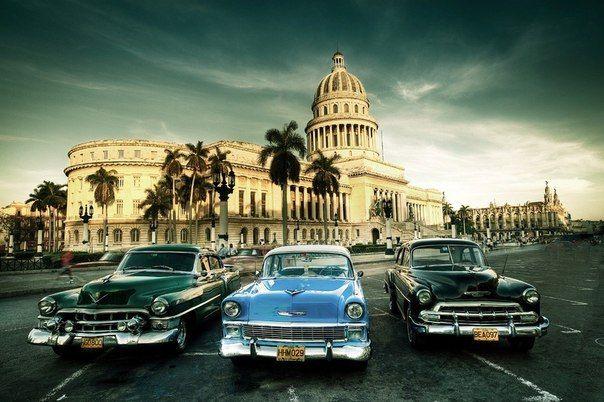 """""""Застывшее время""""  Гавана  Куба..."""