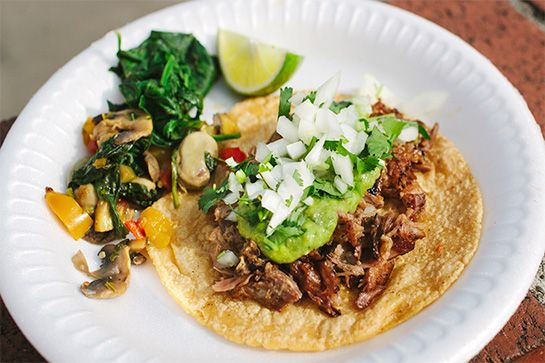 The Best Tacos In All Of L.A. #refinery29  http://www.refinery29.com/los-angeles-taco-restaurants#slide-6  Tacos Quetzalcoatl Slinging rarer Mexican fare from the Chalmita region, Tacos Quetzalcoatl has everything you want when it comes to tacos. Go for the trifecta of the cecina (a Mexican-style beef jerky), the sumptuous pit-roasted lamb barbacoa, and one of the best vegetarian tacos out there: tacos de huauzontles. A blend of stewed Aztec spinach, alfalfa sprouts, red amaranth, and a ...