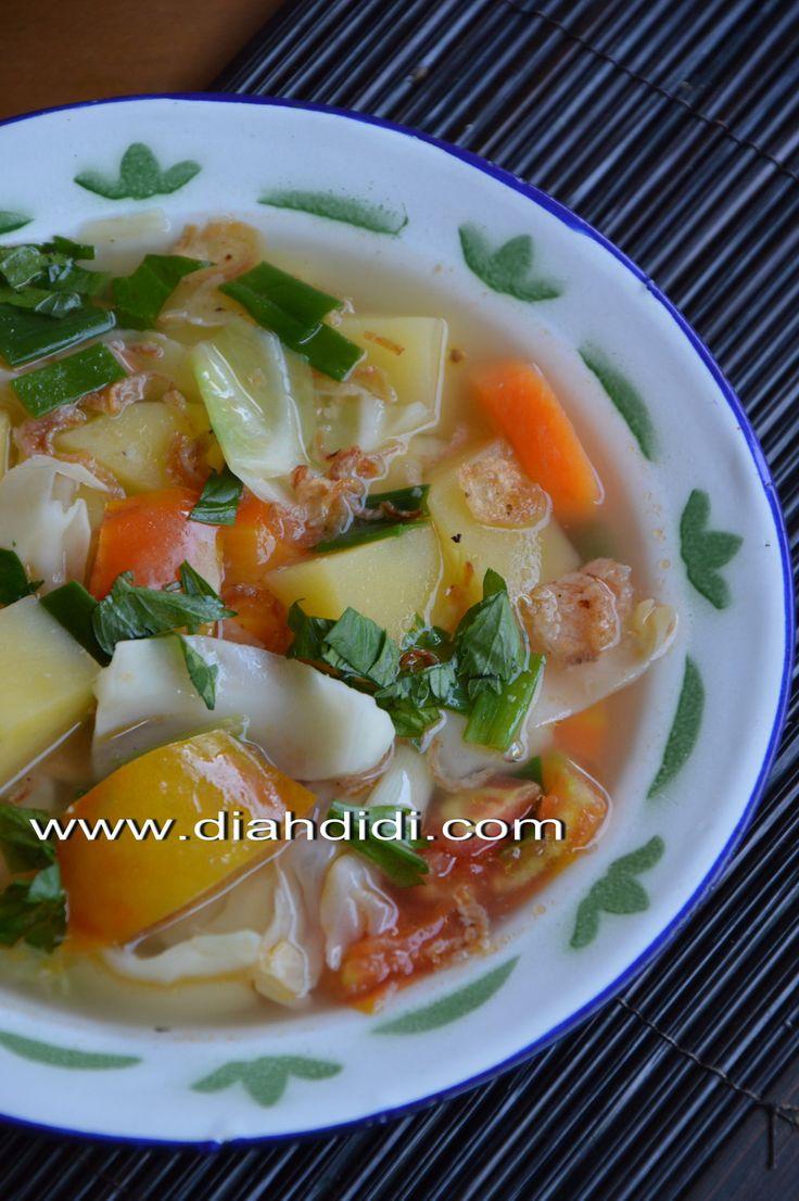 Diah Didi's Kitchen: Inspirasi Menu Buka Puasa Hari ke 4 ( Menu Ala Warteg...Warung Tegal )