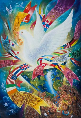 YuMo Zhu - 2016-17 Peace Poster Contest Grand Prize Winner