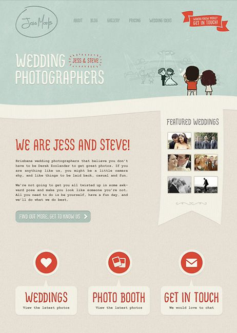 Noble Design - Love all their web designs!