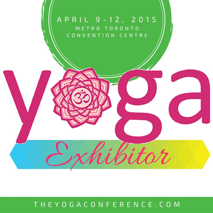 Come visit Half Past Zen at the Toronto Yoga Show and Conference April 10-12 at the Metro Convention Center! http://www.theyogaconference.com/toronto/