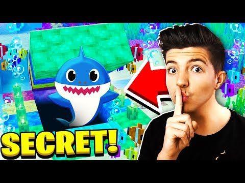 Found Secret Prestonplayz Baby Shark In Minecraft Youtube In