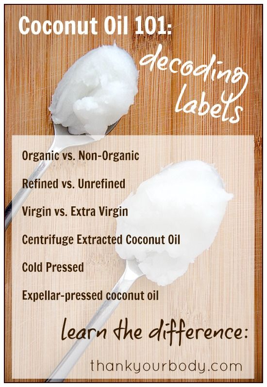 #Coconut #Oil 101: Decoding labels - Learn how to choose the best coconut oil Difference between #Organic and non-organic