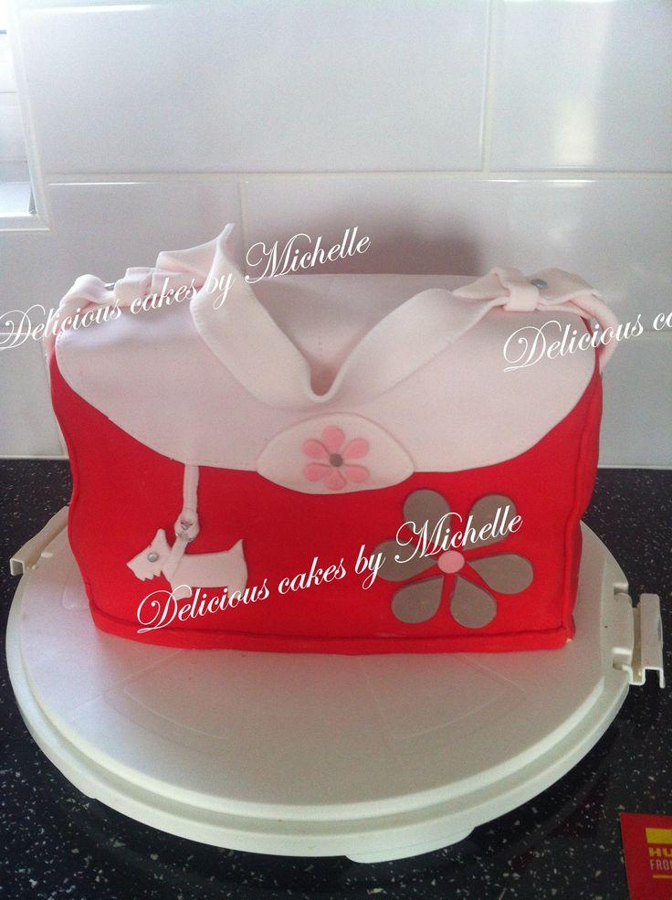 Radley handbag cake, Birthday