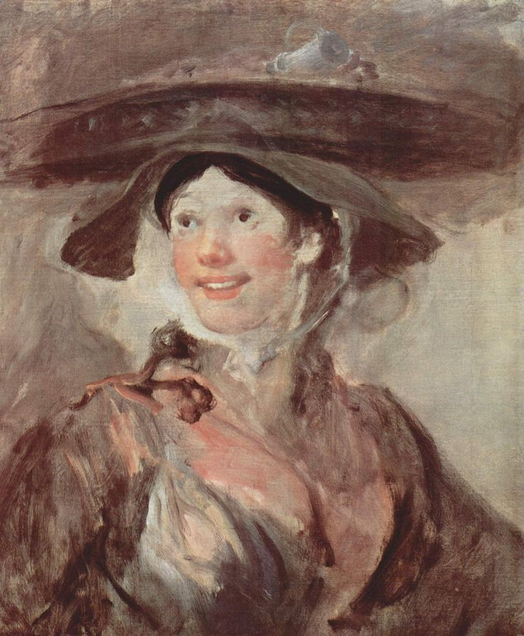Уильям Хогарт. Девушка с креветками. Ок. 1740 г.