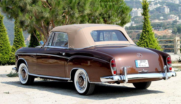 Mercedes benz w180 220 s 1957 mercedes benz pinterest for Mercedes benz lebanon