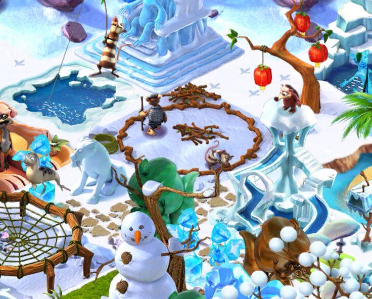 Ice Age Village... Gimnasio de la selva 2