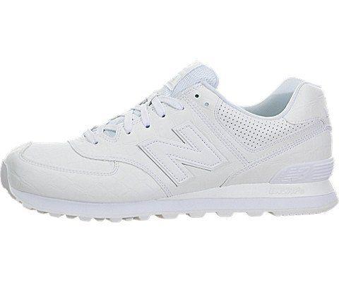 New Balance WL574WEX Running Shoes (9.5 D(M) US, White). sku=ml574wex-9.5.