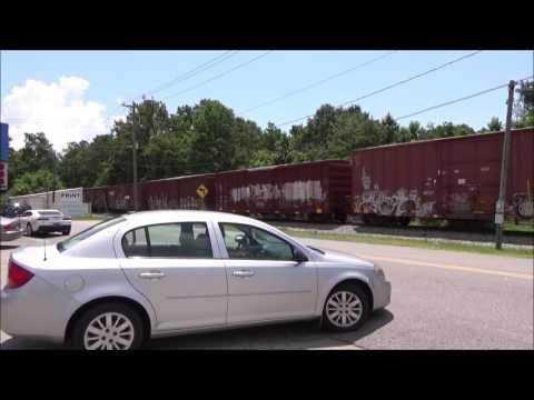 Andrews Subdivision, outside the CSX yard, North  Charleston, South Carolina 6-3-2017 - YouTube
