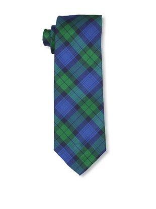 Desanto Men's Capri Tie, Blue/Green