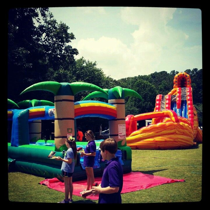 Inflatable Water Slide Rental San Jose: 17 Best Images About Atlanta Inflatable Water Slide