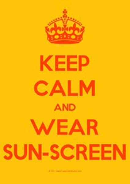 sun safety tips...